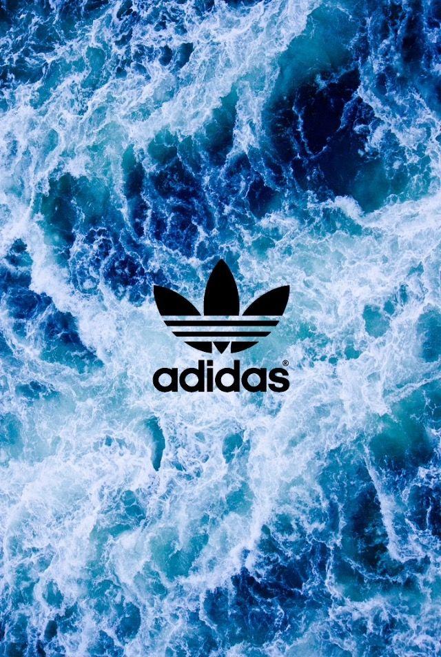 Adidas Blue Wallpaper Wallpapers Ocean Waves I