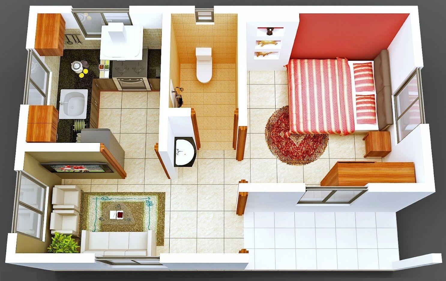 Wohndesign für kleines schlafzimmer apartments mit einem schlafzimmer kleine größe mit max funktion
