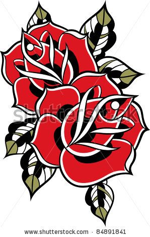 Rose Design Traditional Rose Tattoos Skull And Rose Drawing Traditional Roses