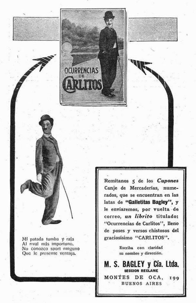 Bagley Ocurrencias de Carlitos 1917-08-25