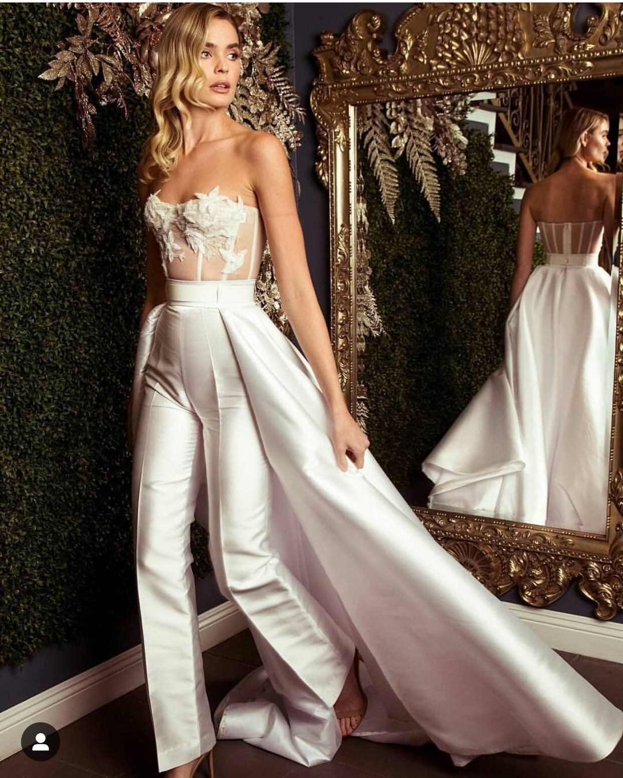27++ White wedding romper with train ideas in 2021