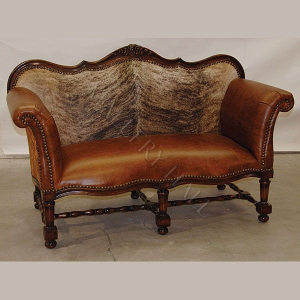 Amazing Fancy Cowhide Leather Sofa In 2019 Western Furniture Bralicious Painted Fabric Chair Ideas Braliciousco