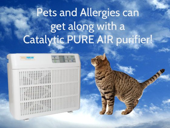 """We got some good feedback from one of our customers who is a cat lover. The Catalytic PURE AIR purifier is helping with their pets and allergies as follows:  """"Those units are so great. We have no cat odor on our house. Amazing with 8 cats who all like to be inside this time of year and those with allergies get along. We move one of our units to our daughter's home when her son who is allergic to her dogs and cats comes to visit them."""" Lynne M."""