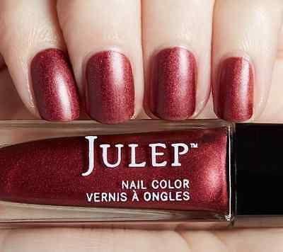 NEW! Julep nail polish CHEYENNE ~ Auburn matte metallic 0.27 fl.oz.
