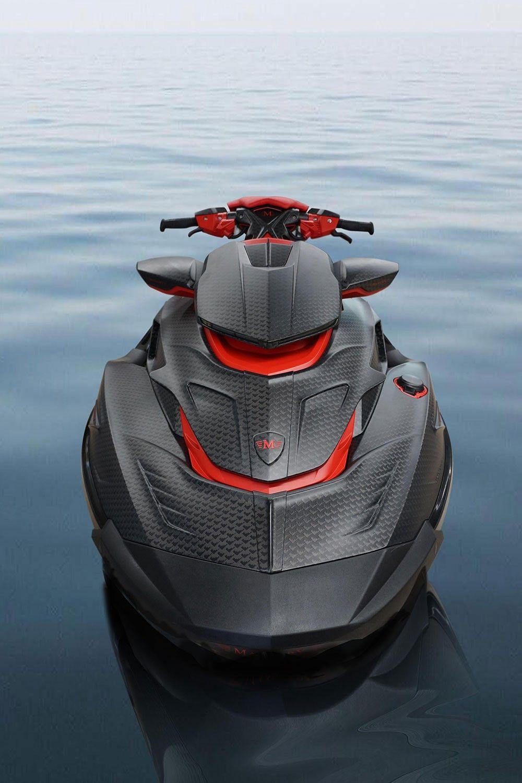 Mansory Presents The Luxury Black Marlin Jet Ski Jet Ski Luxury Jets Boat