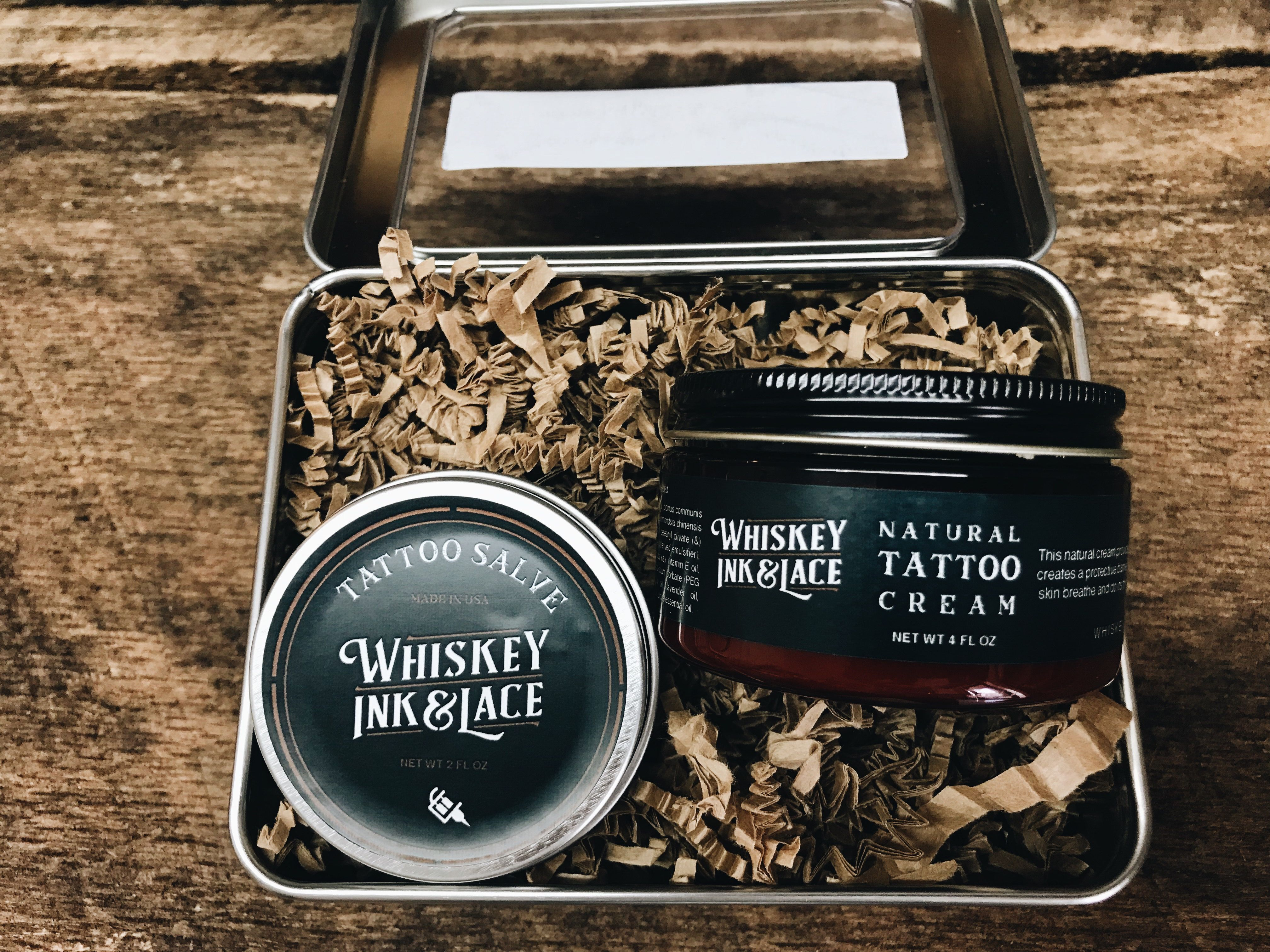 Vegan Tattoo Aftercare made with all natural ingredients