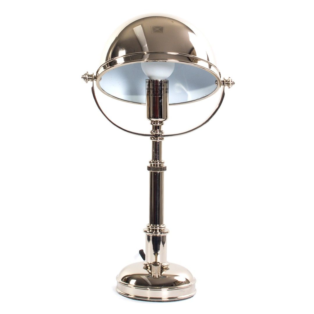 Ralph Lauren Polished Nickel Carthage Table Lamp At Decornyc Polished Nickel Lamp Lamp Decor