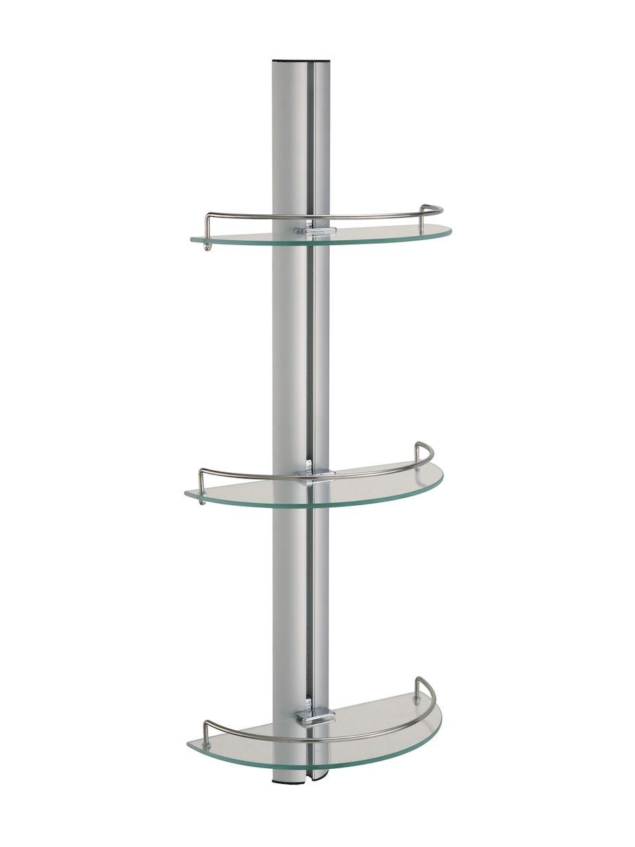 Neu Home 3 Tier Shelf Glass Bathroom Bathroom Shelves Glass Shelves