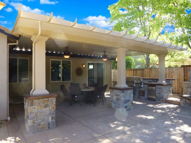 Awesome Weatherwood® Californian Solid Patio Covers   Duralum Products, Inc.