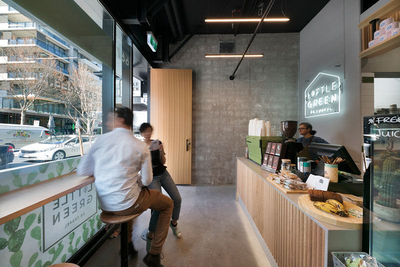 This Small Cafe In Melbourne Makes The Most Of Its Space Small Restaurant Design Cafe Seating Shop Interiors