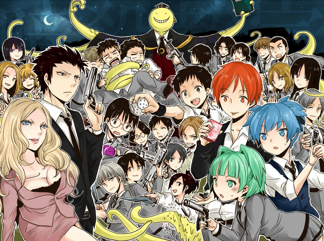 it s too bad assassination classroom has no chance of coming to