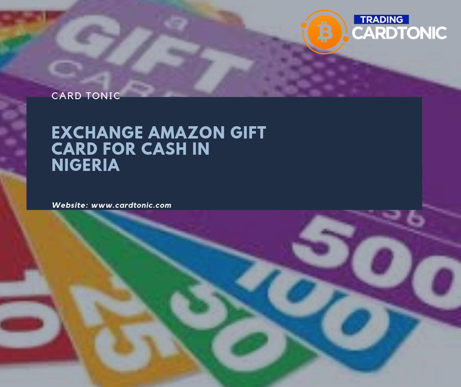 Exchange Amazon Gift Card For Cash In Nigeria Amazon Gift Cards Amazon Gifts Gift Card