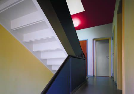 inside paul klee 39 s house i photo meisterhauser innenr ume pinterest. Black Bedroom Furniture Sets. Home Design Ideas