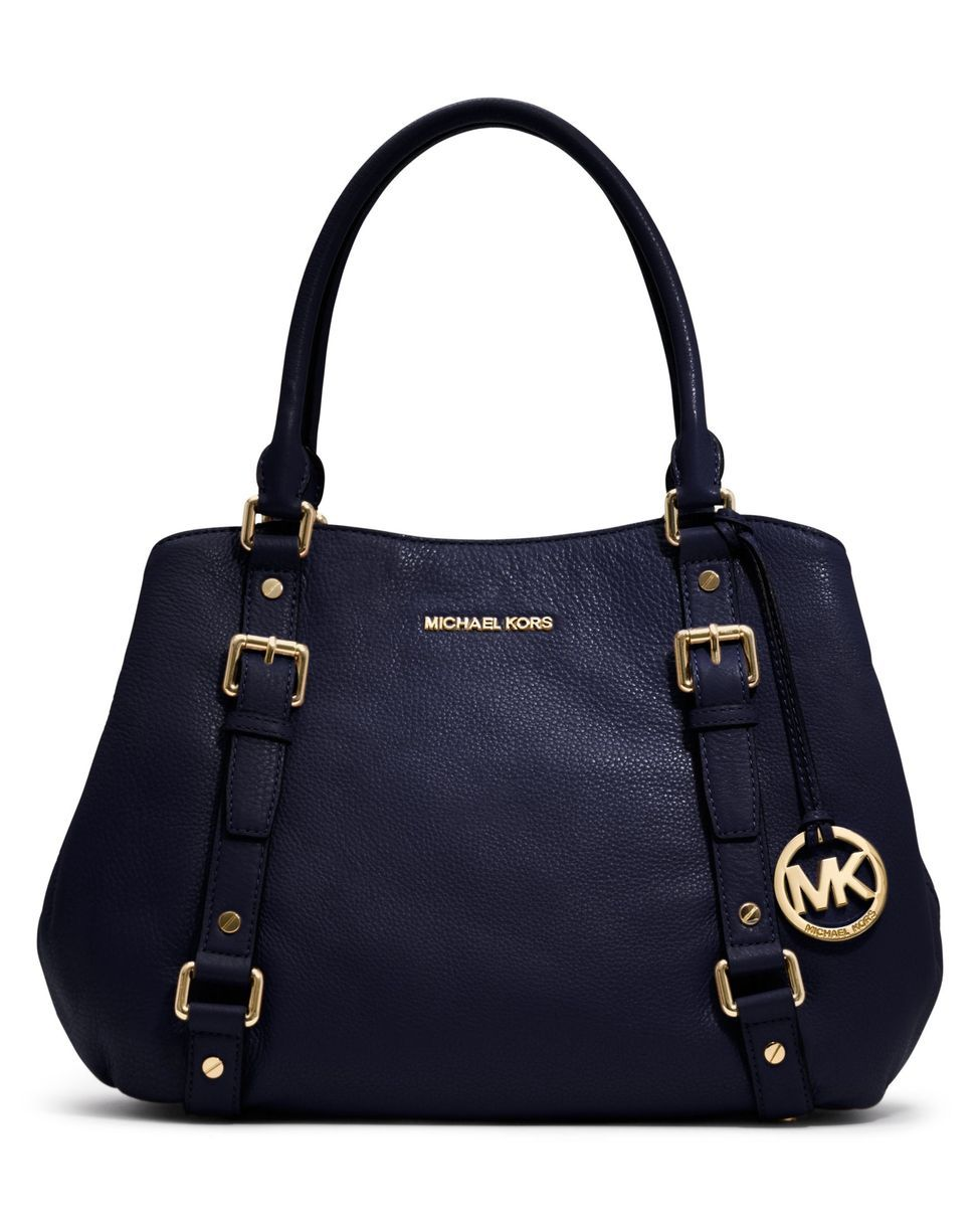 Michael Kors Handbag Bedford East West Satchel All Handbags Accessories Macy S Ugh I Don T Care About The Designer Brand