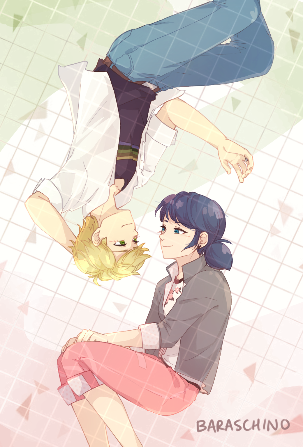 """baraschino: """"something for adrinette month before it ends (◡‿◡✿) """""""
