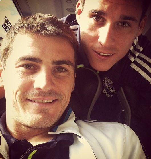 Iker Casillas & Jose Callejon