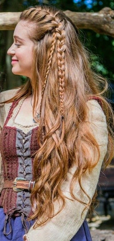 Medieval Braids Renaissance Hairstyles Medieval