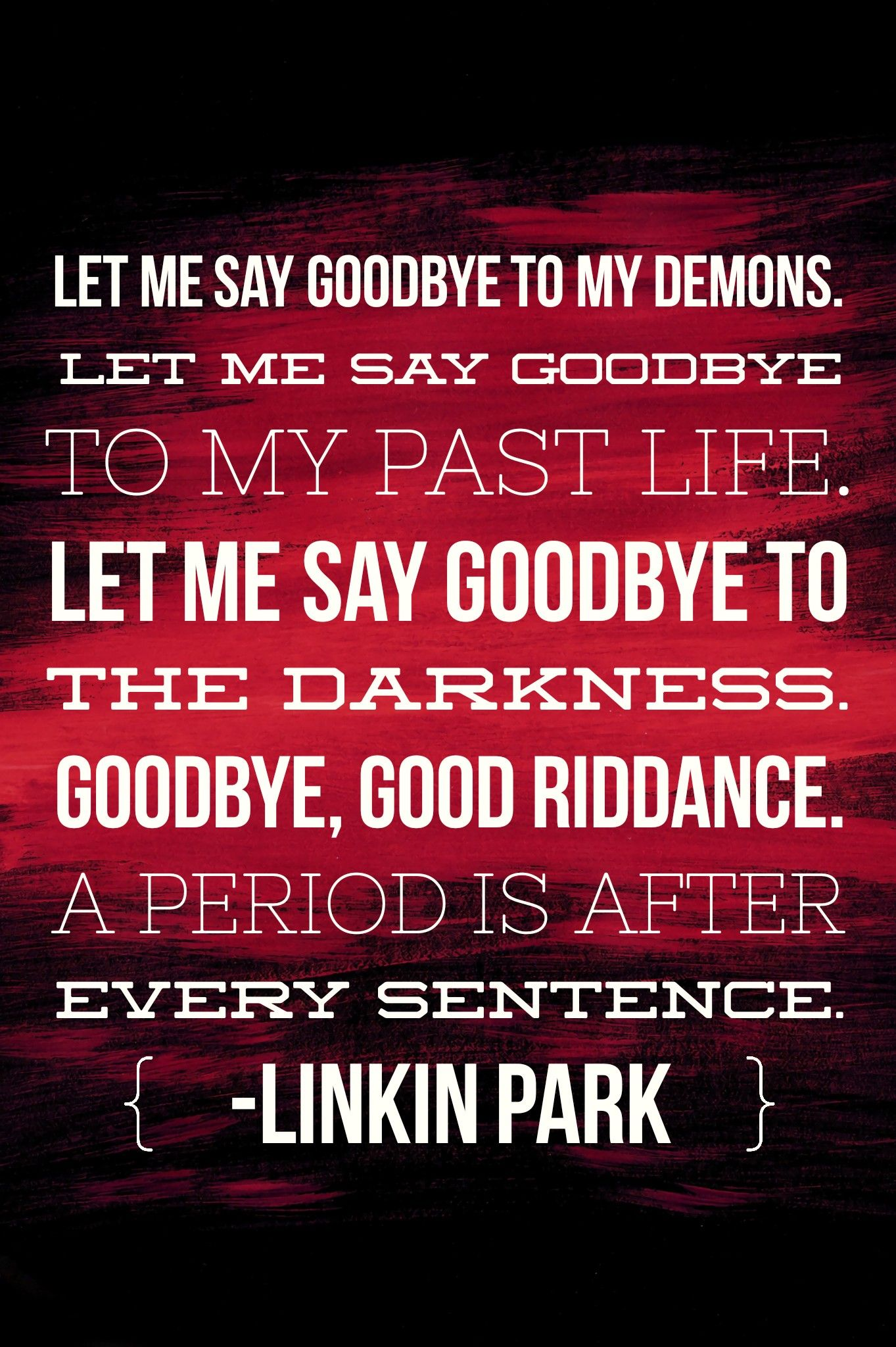 linkin park • good goodbye ft pusha t stormzy good in