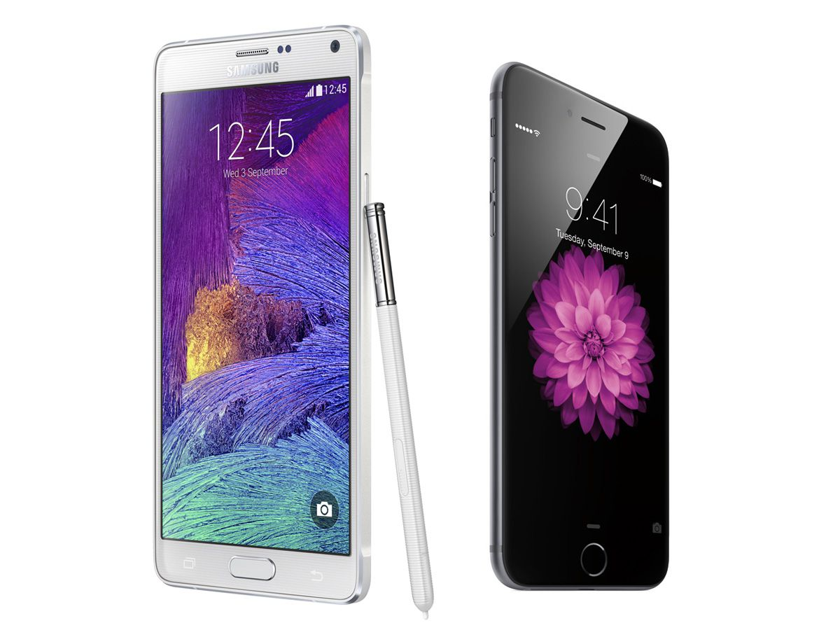 Apple takes on Samsung's Note range with its first phablet – how will the reigning champ fare against the upstart?