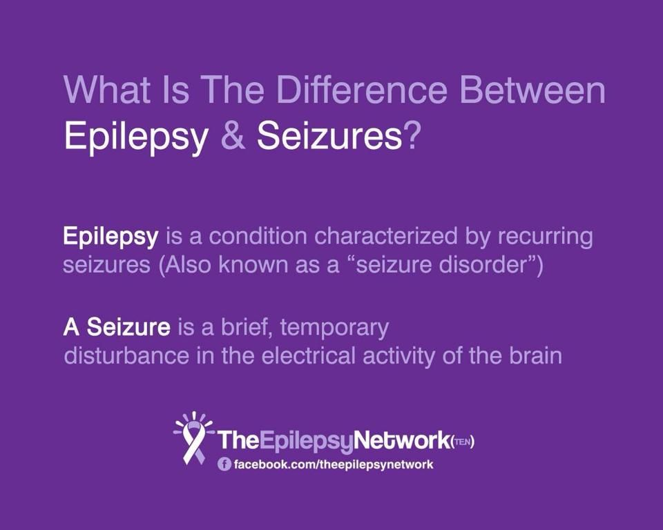 What is the difference between Epilepsy and Seizures ...