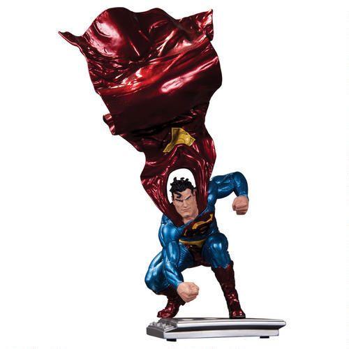 SMDCDSTAT04 Superman The Man of Steel: Metallic Finish Statue by Lee Bermejo