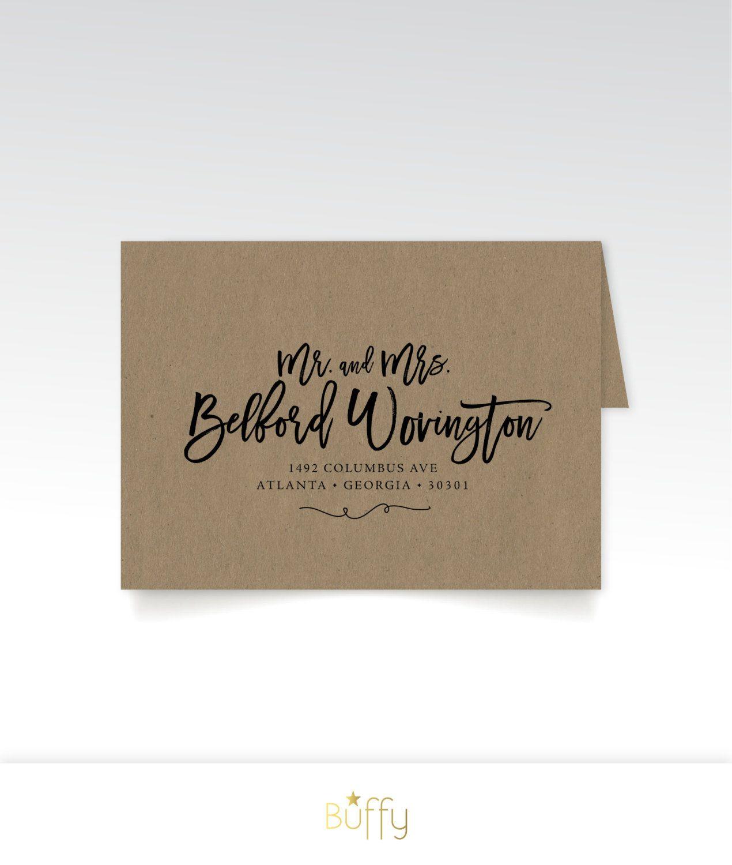 Address Printing Brown Craft Paper Envelopes Bold Large Etsy Paper Envelopes Invitation Envelopes Paper Crafts