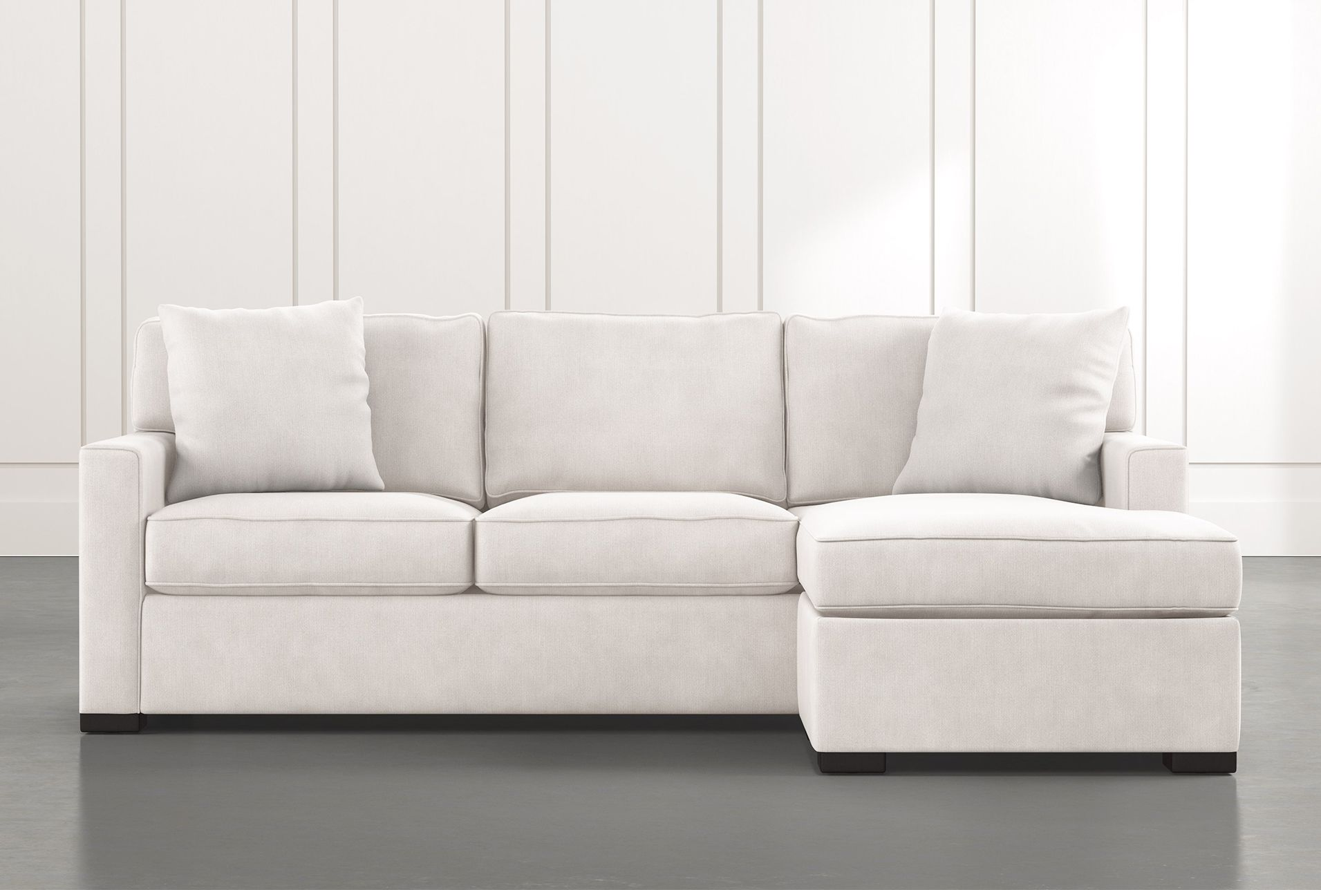Sensational Taren Ii White Reversible Sofa Chaise Sleeper W Storage Gmtry Best Dining Table And Chair Ideas Images Gmtryco