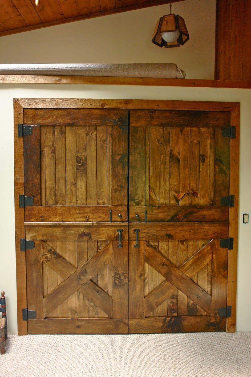 Interior Double Dutch Barn Doors For Laundry Closet Front Doors
