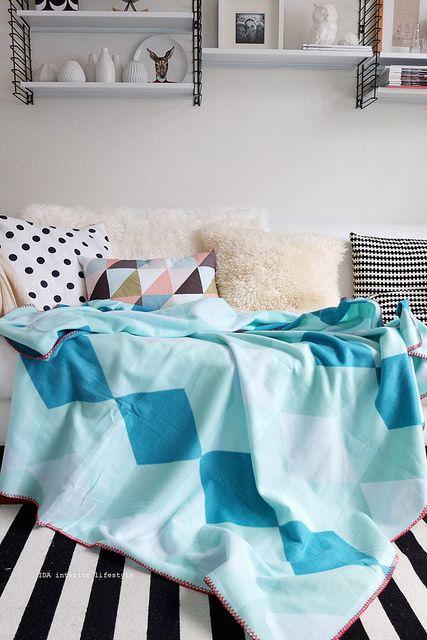 Geometric blanket | Flickr – Compartilhamento de fotos!