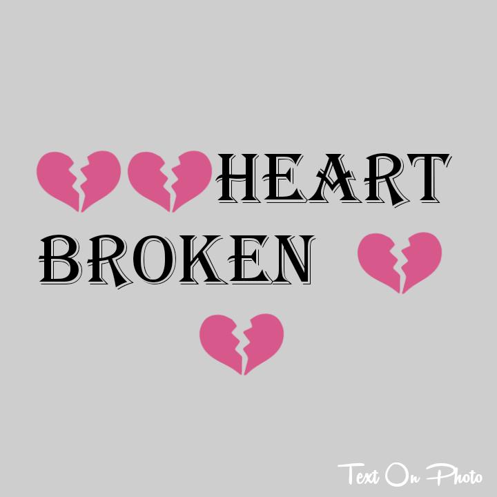Surender Maurya Broken Heart Text Photo