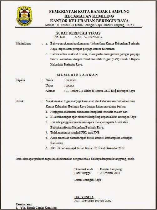 Contoh Surat Resmi Dan Tidak Resmi Bahasa Jawa Surasmi E