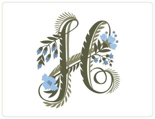 Jill De Haan S Portfolio Letter H Design Lettering Alphabet Lettering Design