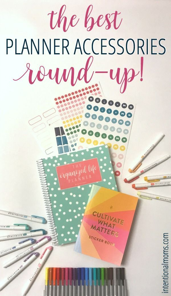 The BEST Planner Accessories Round-Up! - Anchored Women
