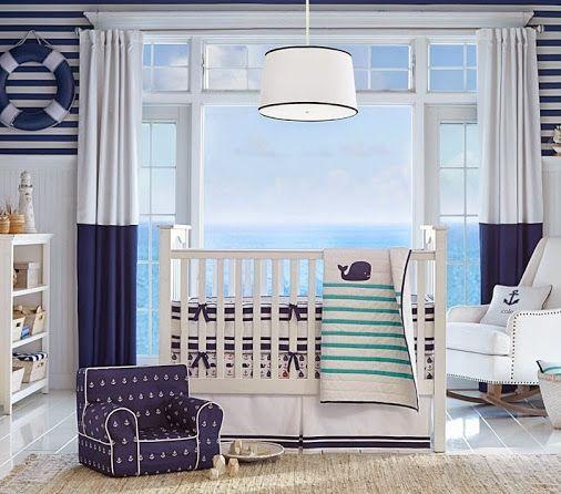 Preciosa Habitaci 243 N Marinera Para Tu Bebe Cuarto De