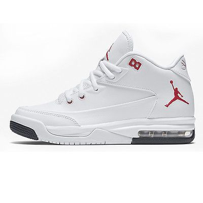 Nike Jordan Flight Origin 3 Gs Big Kids 820246 160 White Red
