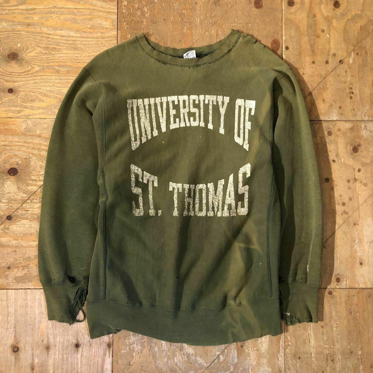 Champion Reverse Weave Crew Neck 90s Vintage Sweatshirt St Thomas Green Men S In 2021 Vintage Sweatshirt Champion Reverse Weave Long Sleeve Tshirt Men [ 1200 x 1200 Pixel ]
