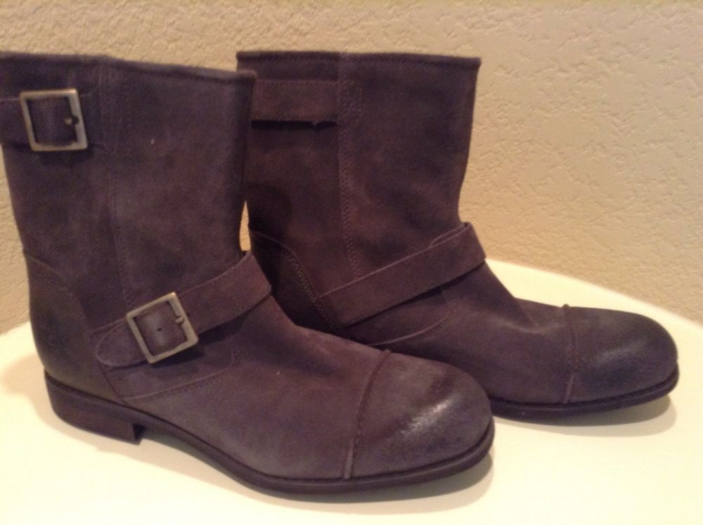 top brands various styles newest collection Australia UGGS Men's Brown Leather Mid-Calf Boots Size 10 M ...