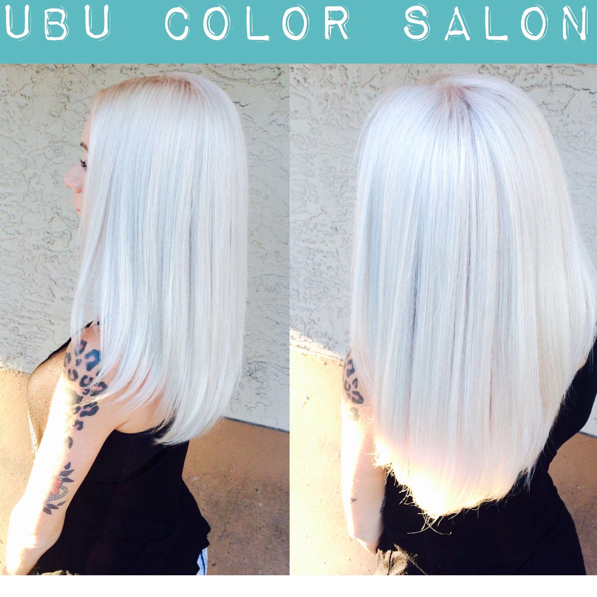 Pin by ubu color salon on platinum blonde pinterest cabello