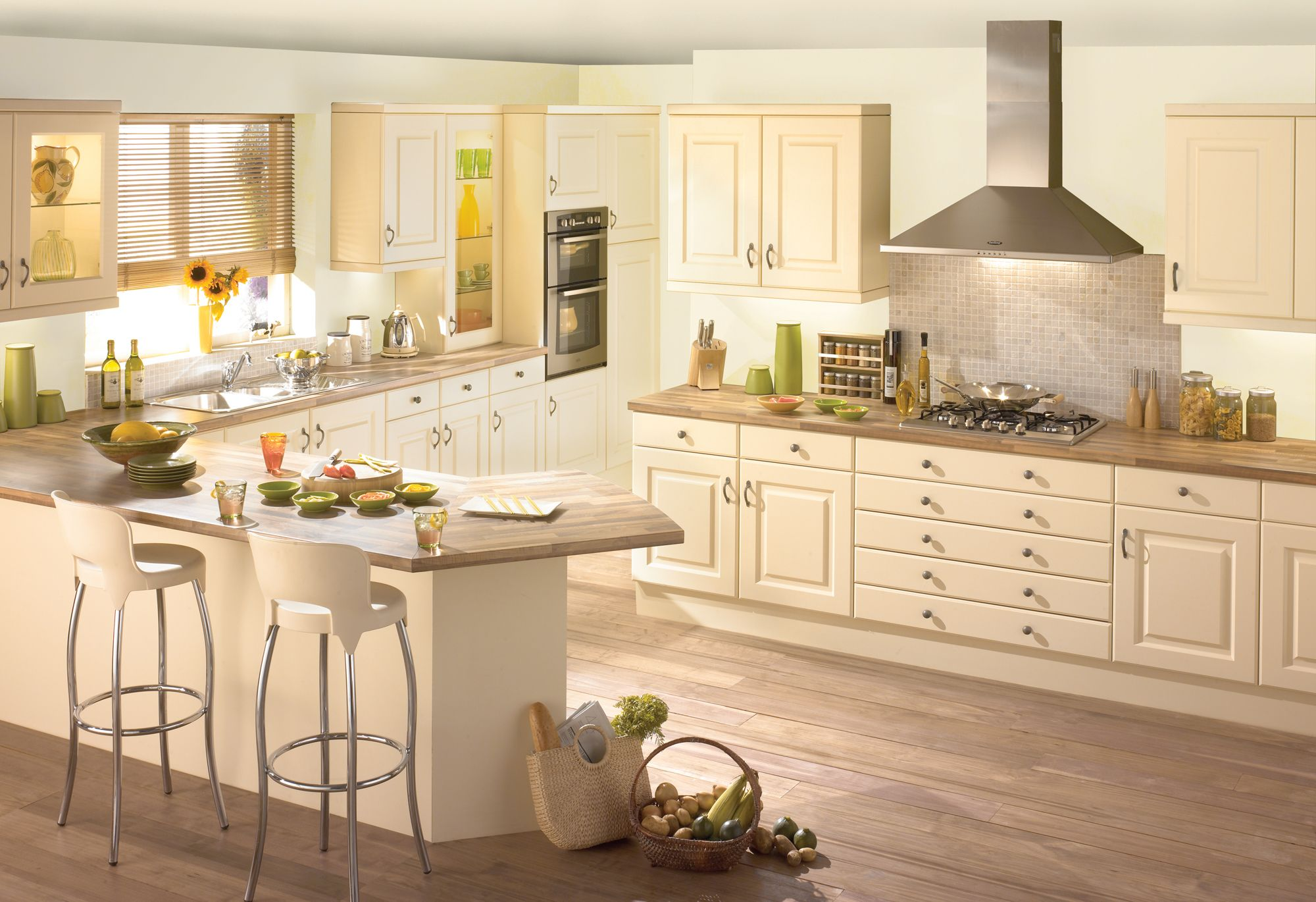 Best Cream Kitchen All Kitchens Are Made To Measure And All 400 x 300