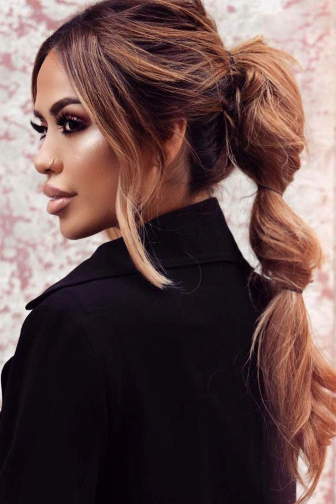 Cute Straight Hairstyles for Long Hair. Straight hairstyles look really appealing and extremely elegant. #reallyLonghair