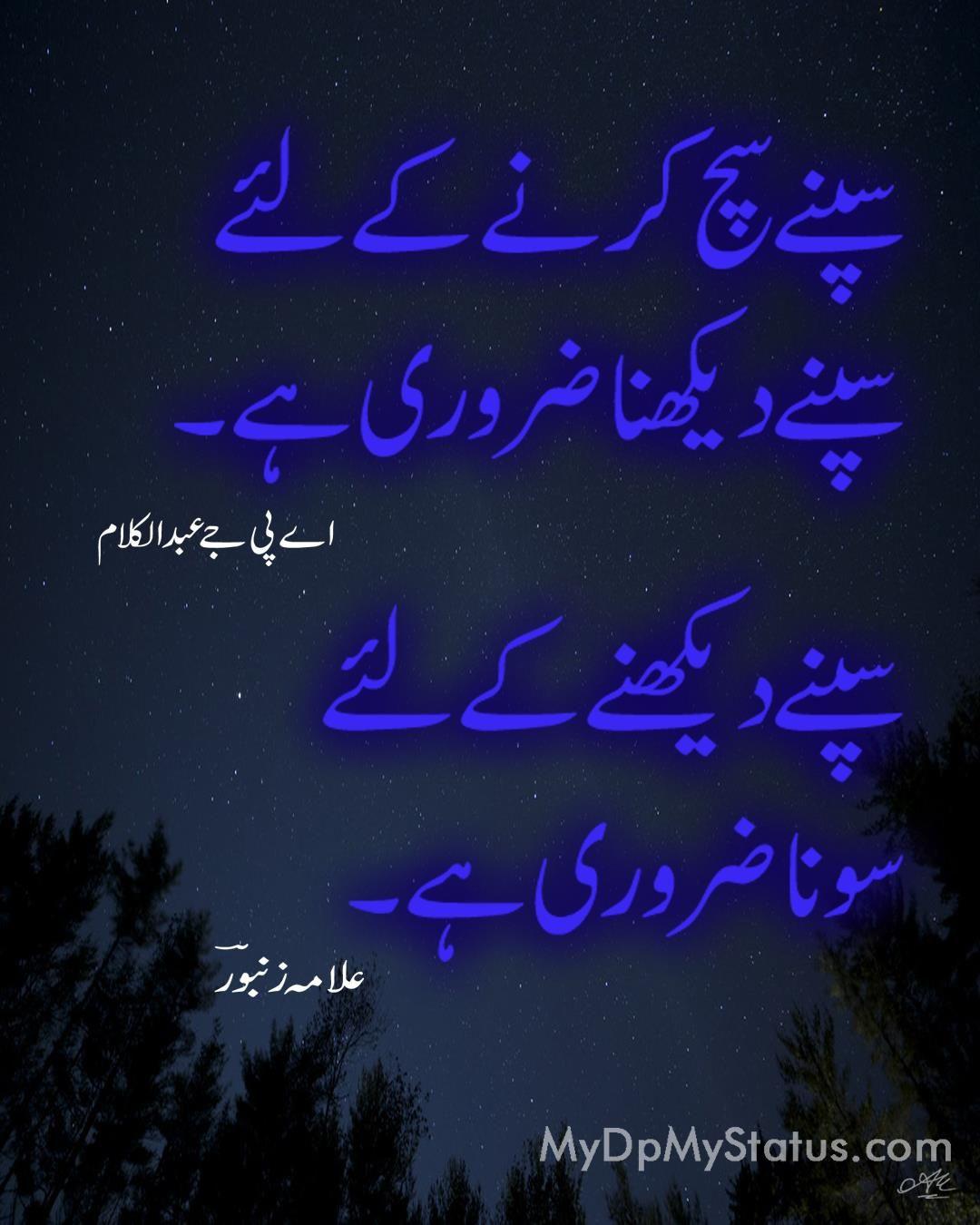 Hindi Urdu shayeri dp status best quote quotes