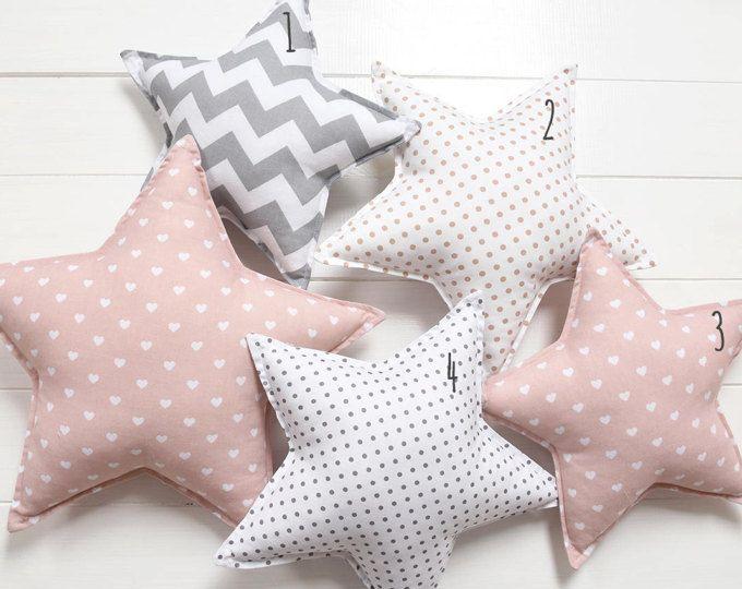 Moon Pillow Moon Cushion Crescent Moon Pillow Star Nursery Decor ...