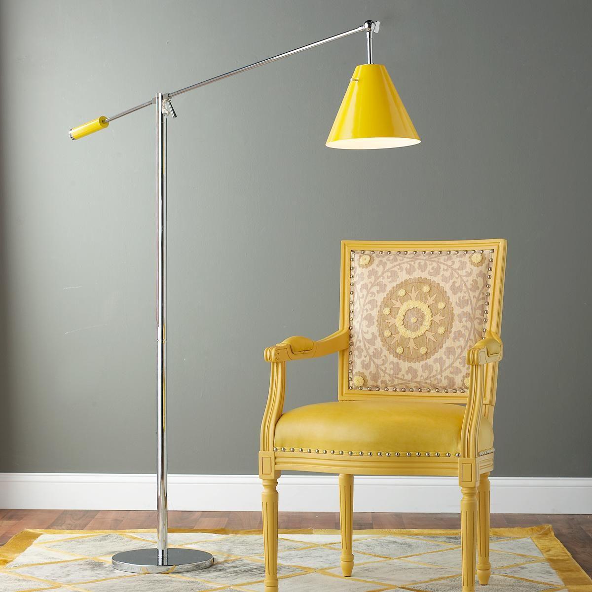 Oversized Modern Lever Arm Floor Lamp Arm floor lamp