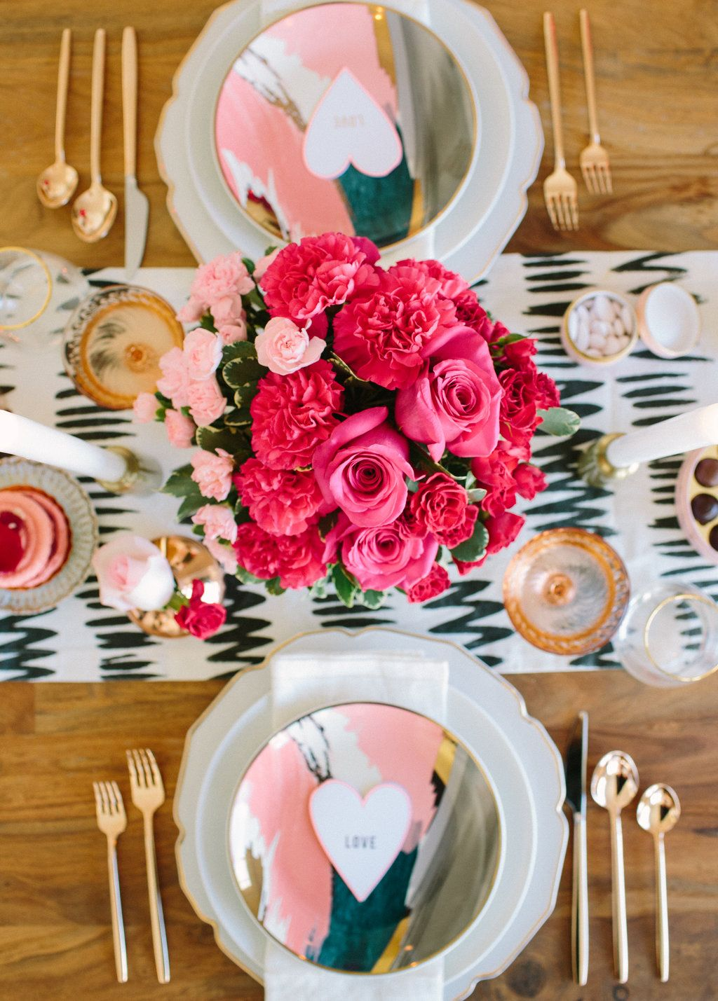 Valentine's Day Dinner Date Styled by 100LayerCake