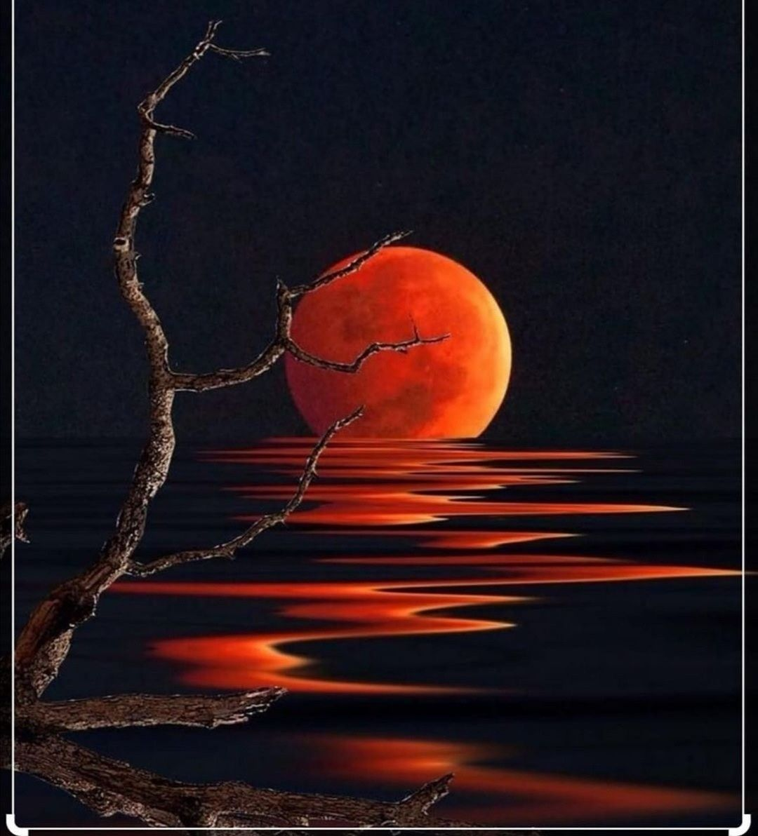 Pin By Zey Y On Natura In 2020 Beautiful Moon Moon Painting Moon Photography