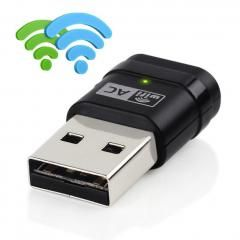 Dual Band Network Card 11Ac Wi Fi Usb Adapter 2 4Ghz 5Ghz Tp