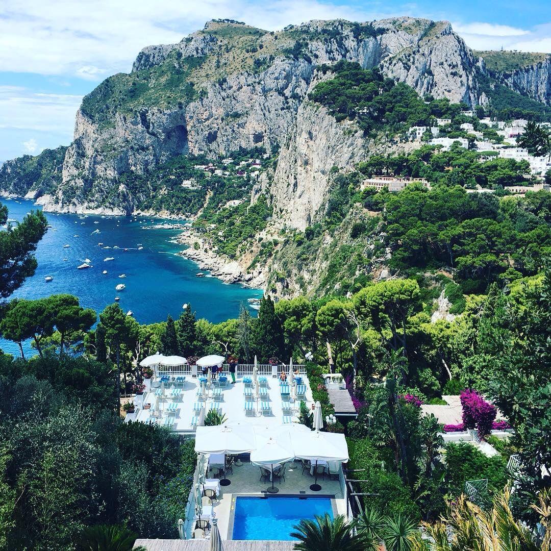 Terrazza Brunella A Capri Napoli Adventure Abroad