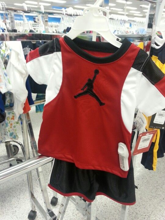 Jordan baby outfit at Ross department store.   Baby ...