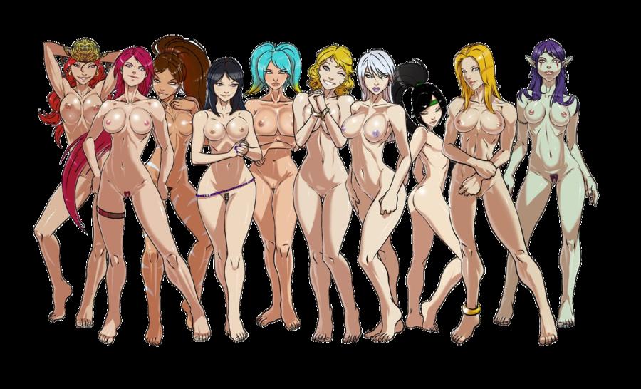 Hot sexy naked girls having orgasam