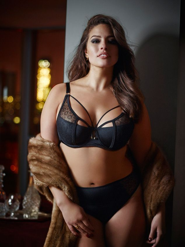 9c517e34172 Plus-Size Supermodel Ashley Graham Poses in Sexy Lingerie for Her New  Modern Boudoir Collection See the Pics!